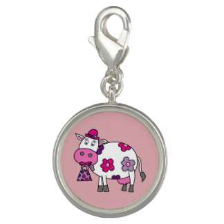 Pink Daisy Cow