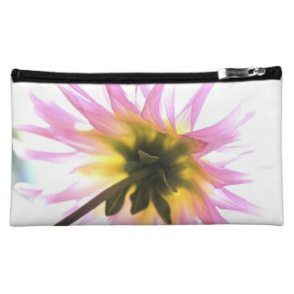Pink Daisy Love Cosmetic Bag