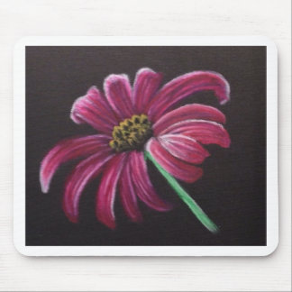 Pink Daisy Mouse Pad