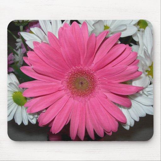 Pink Daisy mousepad