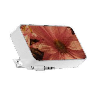Pink Daisy Laptop Speaker