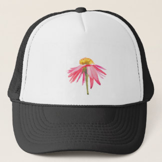 Pink Daisy Trucker Hat