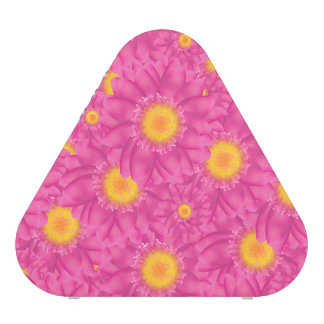 Pink Daisy with Yellow Center Speaker