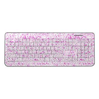Pink Dalmatian Keyboard