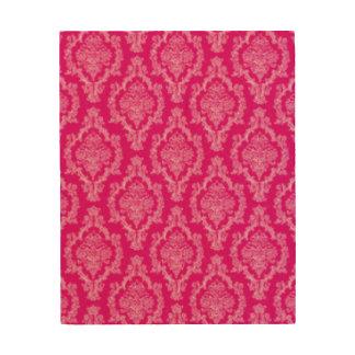 Pink Damask Pattern Print design