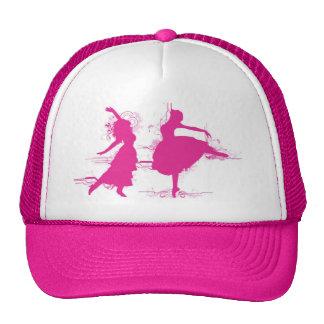 Pink Dancer Mesh Hat