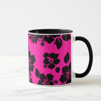 Pink Dark Hawaiian Mug