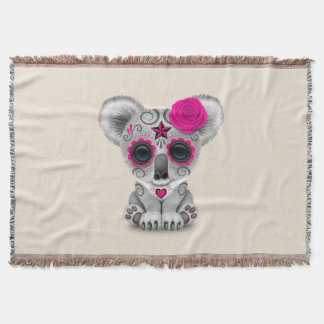 Pink Day of the Dead Baby Koala