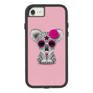 Pink Day of the Dead Baby Koala Case-Mate Tough Extreme iPhone 8/7 Case