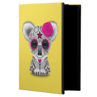 Pink Day of the Dead Baby Koala Powis iPad Air 2 Case