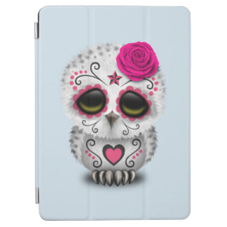Pink Day of the Dead Baby Owl iPad Air Cover