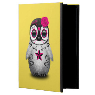 Pink Day of the Dead Baby Penguin Powis iPad Air 2 Case