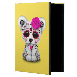 Pink Day of the Dead Baby Polar Bear Powis iPad Air 2 Case