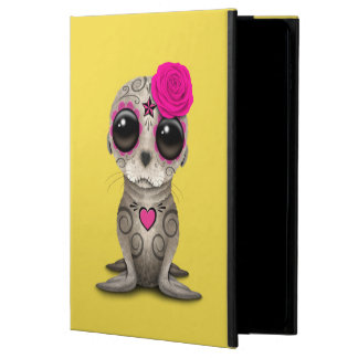 Pink Day of the Dead Baby Sea Lion Powis iPad Air 2 Case