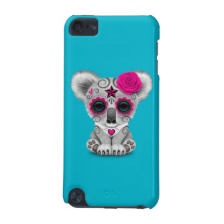 Pink Day of the Dead Sugar Skull Baby Koala iPod Touch (5th Generation) Covers