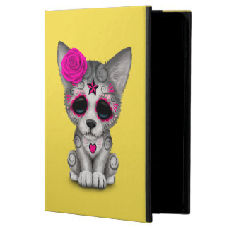 Pink Day of the Dead Wolf Cub Powis iPad Air 2 Case