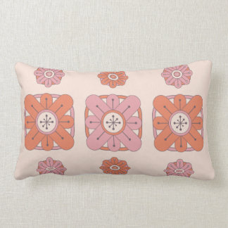 Pink Deco Flowers Cushions