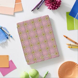 Pink Delight Vintage Floral Mandala iPad Case iPad Cover
