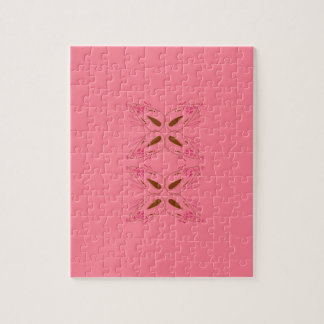 Pink design elements jigsaw puzzle