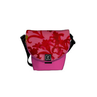 Pink Design Courier Bags