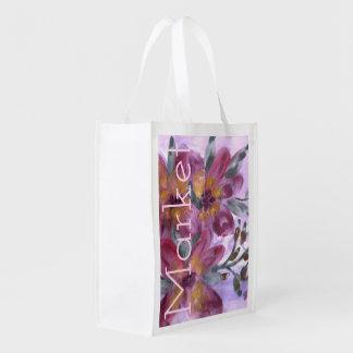 Pink Designer Market Bag
