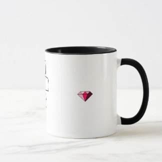Pink Diamon see-me ring mug.