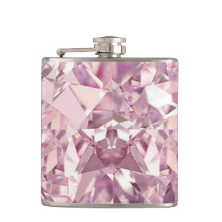 Pink Diamond Flask