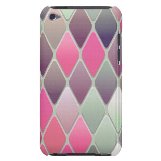 Pink Diamond Mosaic Barely There iPod Cover