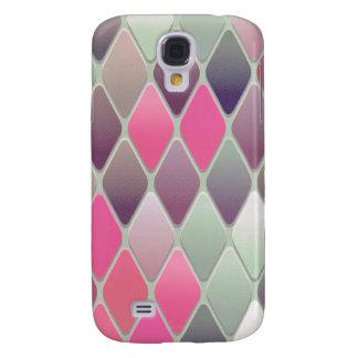 Pink Diamond Mosaic Samsung Galaxy S4 Covers