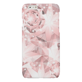 Pink Diamond Sparkle on Light Pastel Brilliant