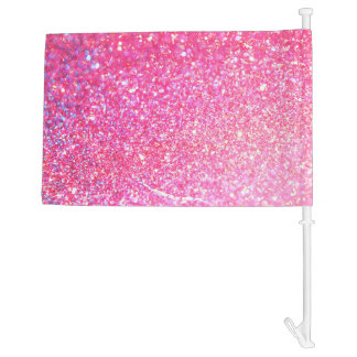 Pink Diamond Style Car Flag