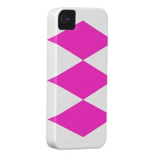 Pink Diamond theme iPhone 4 Case