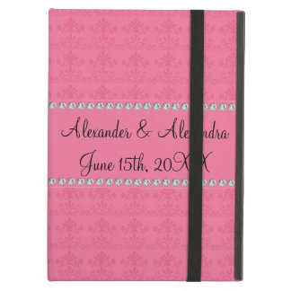Pink diamond wedding favors case for iPad air