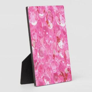 Pink Diamonds Plaque