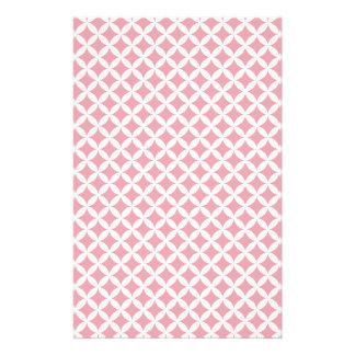 Pink Diamonds Custom Stationery