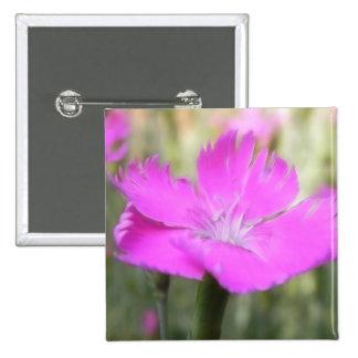 Pink Dianthus Bloom Pin