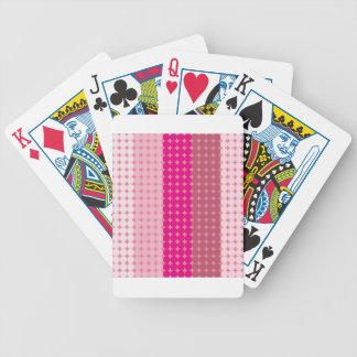 Pink Disco Lights Poker Deck