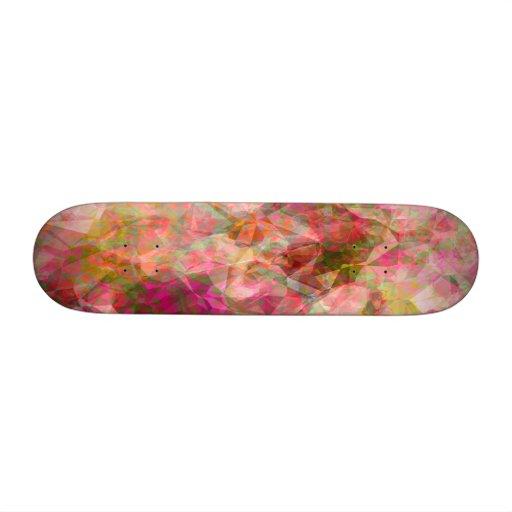 Pink Display Custom Skate Board