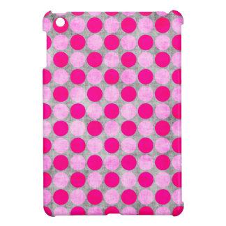 Pink Distressed Polka Dotted iPad Mini Covers