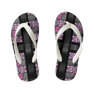 Pink Diva Pink Cheetah Thongs