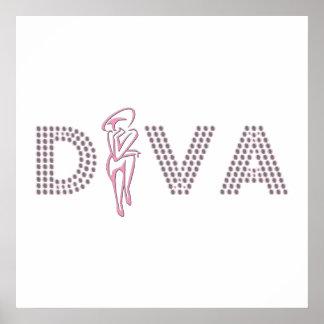 Pink Diva Poster