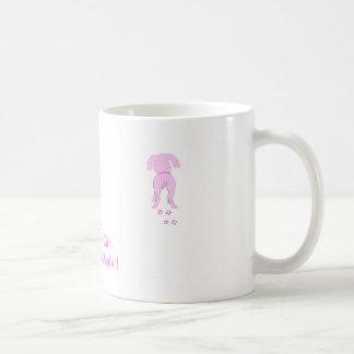 Pink Dog Ears Down Daddy's Girl Coffee Mug