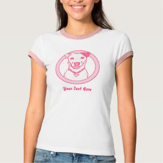 Pink Dog T Shirt