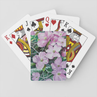 Pink Dogwood 1 Playing Cards