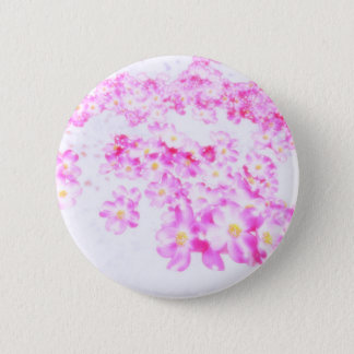Pink Dogwood Blossom 6 Cm Round Badge