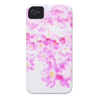 Pink Dogwood Blossom iPhone 4 Case-Mate Case