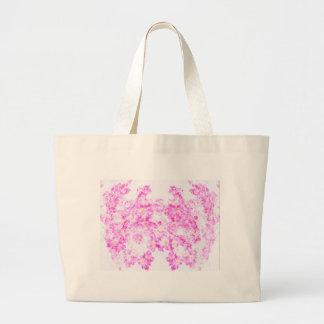 Pink Dogwood Blossom Large Tote Bag