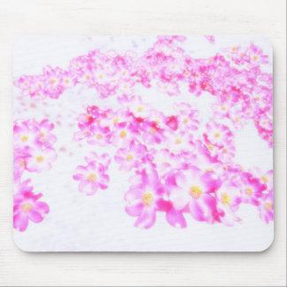 Pink Dogwood Blossom Mouse Pad