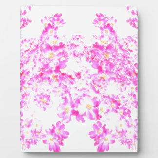 Pink Dogwood Blossom Plaque