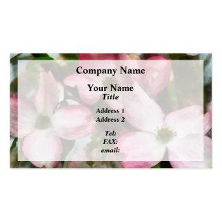 Pink Dogwood Closeup Pack Of Standard Business Cards